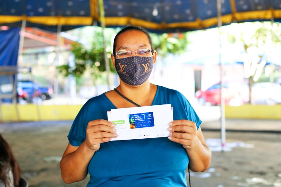 Dona de casa Izabel Cristina, 35 anos | Foto: Divulgação
