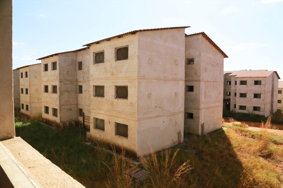 900 moradias estão praticamente concluídas no Chácara São Pedro