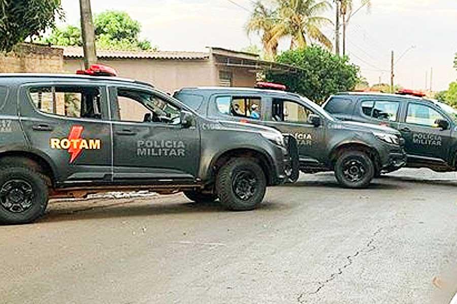 Confronto na Vila Mutirão termina com 1 suspeito morto | Foto: Divulgação/PM-GO