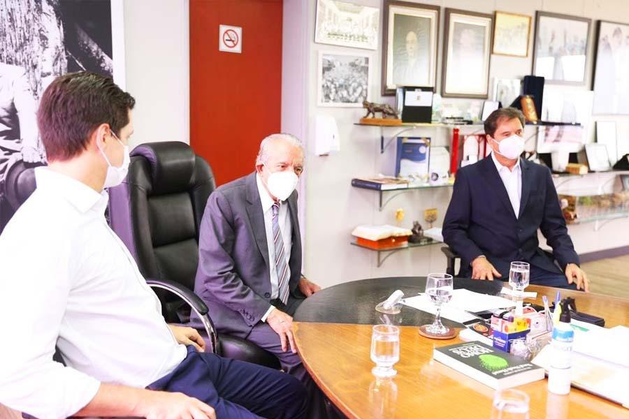 Reunião da cúpula do MDB no Paço | Foto: Divulgação