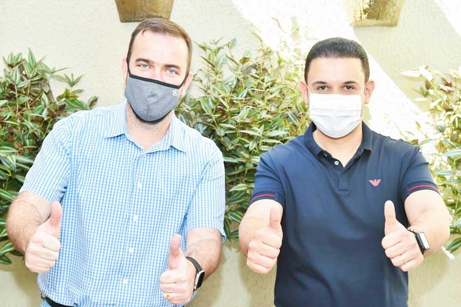 Gustavo Mendanha e Cairo Salim | Foto: Divulgação