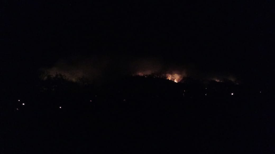 incêndio Serra da Areia Aparecida