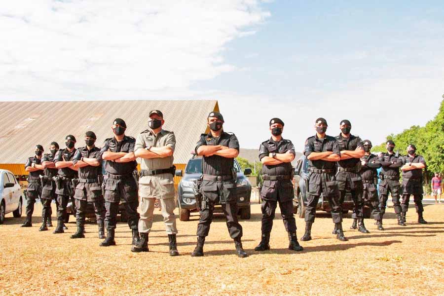CPE Aparecida | Foto: Divulgação / PM-GO