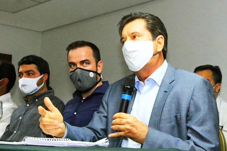 Gustavo Mendanha e Maguito Vilela | Foto: Reprodução
