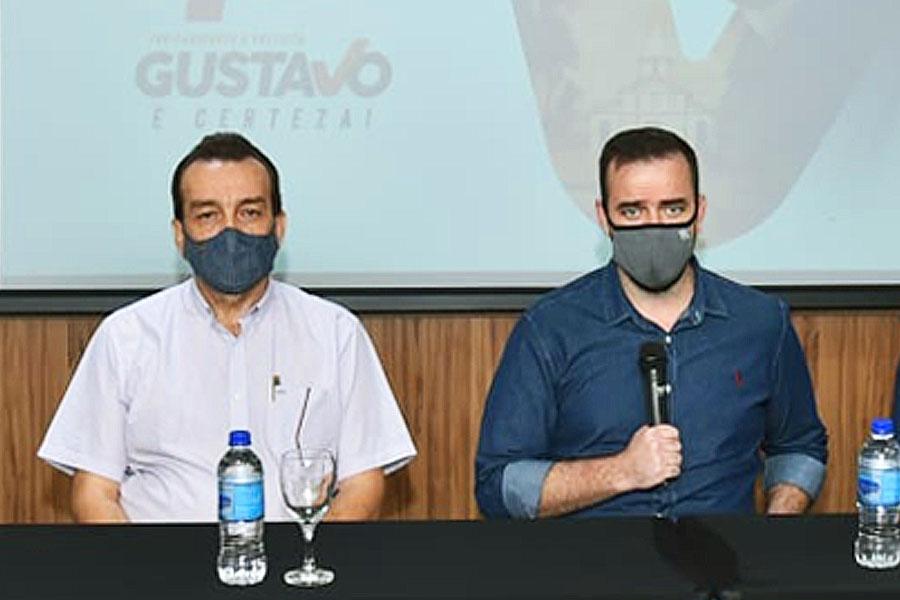 Pastor Romeu Ivo e Gustavo Mendanha | Foto: Divulgação