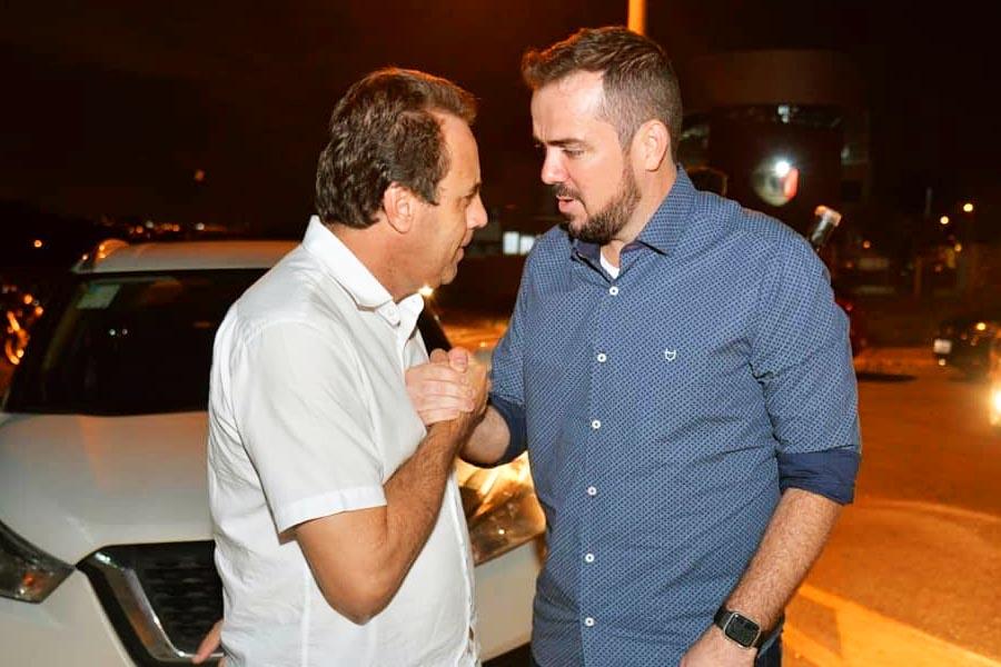 Veter Martins e Gustavo Mendanha | Foto: Reprodução