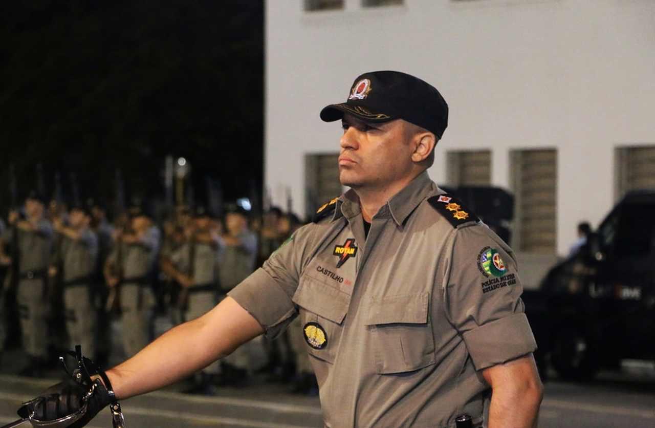 comando PM Aparecida coronel Castilho