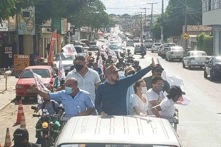 Carreata foi na região conhecida como Grande Garavelo | Foto: Divulgação