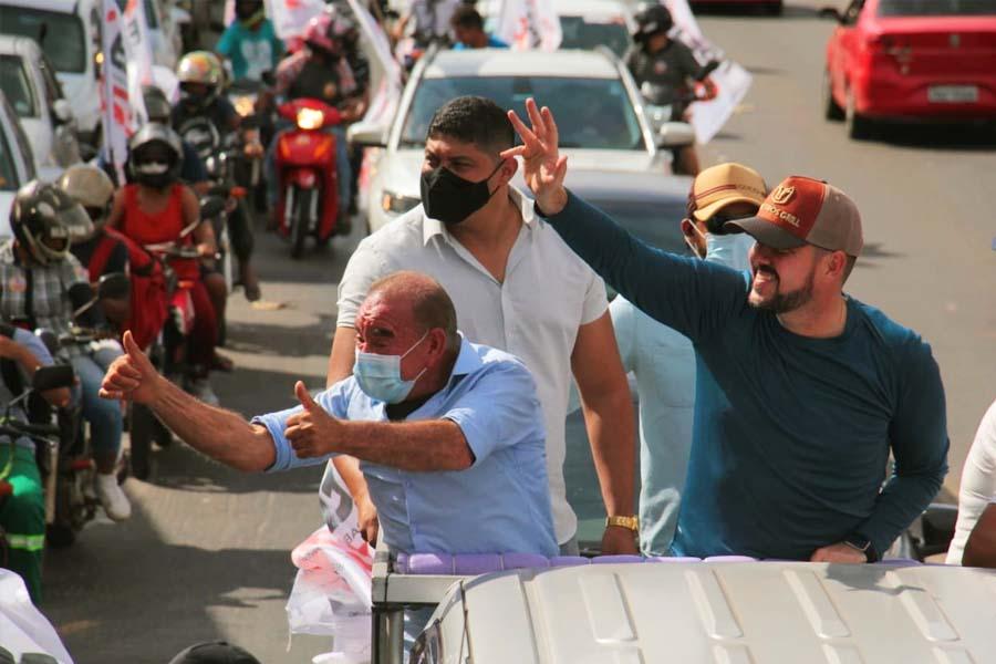 Vereador Edilson e Gustavo Mendanha | Foto: Divulgação