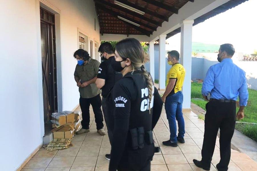 Grupo teria vindo para Goiás após ter sua atuação descoberta em São Paulo | Foto: Divulgação/MP