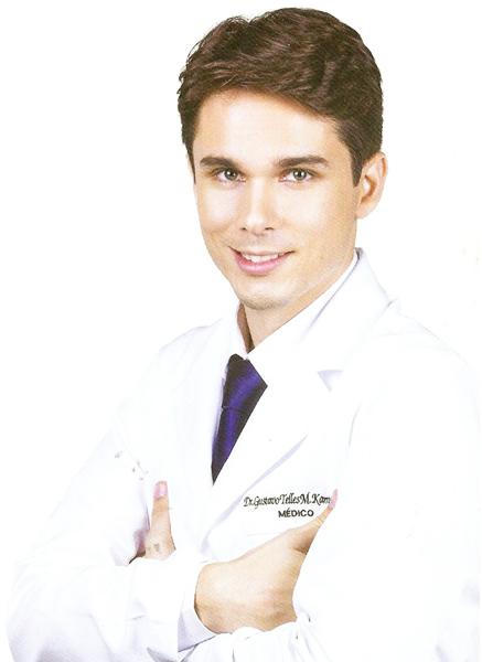 Anestesista Gustavo Kamenach   Foto: Arquivo Pessoal