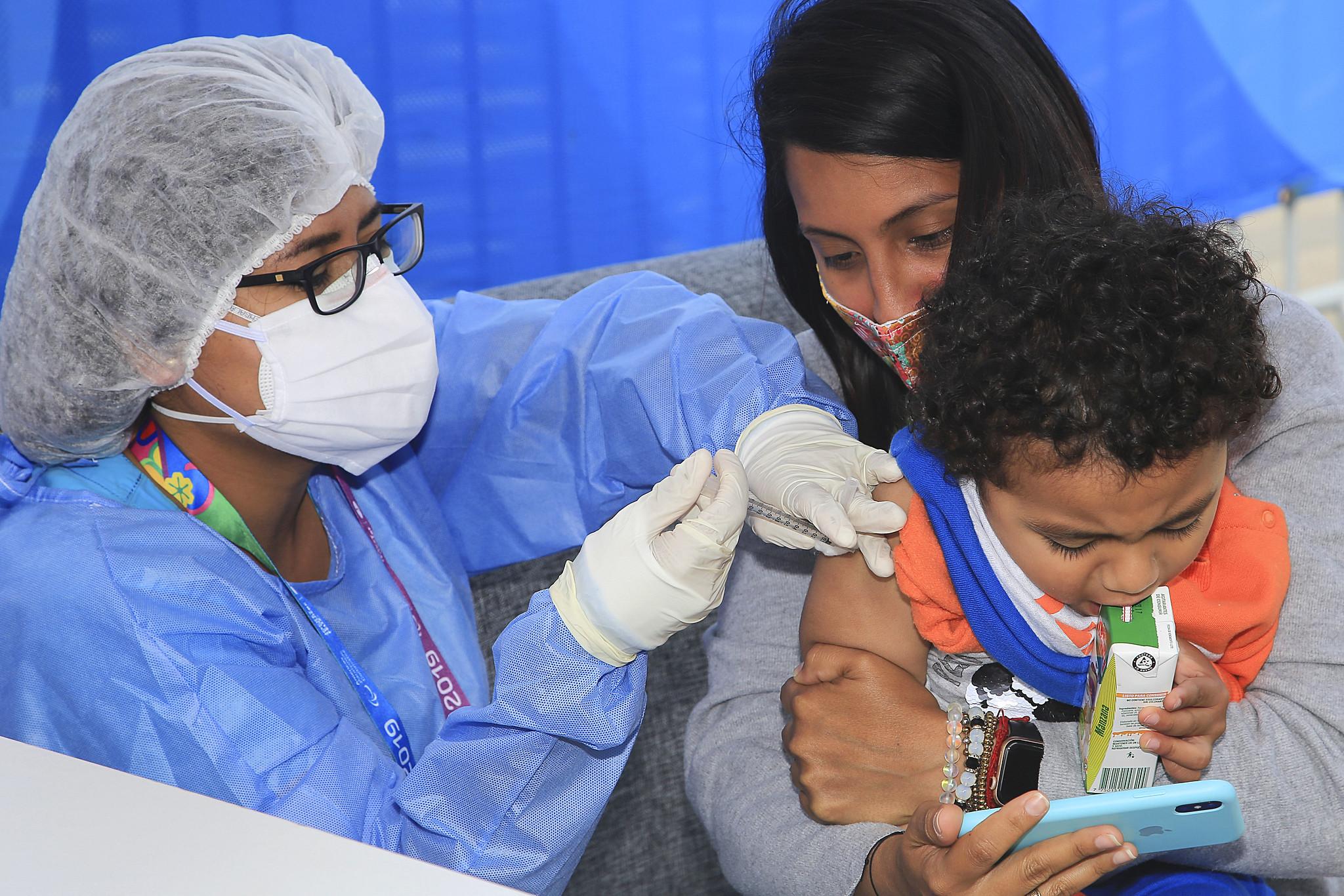 Vacinação de crianças