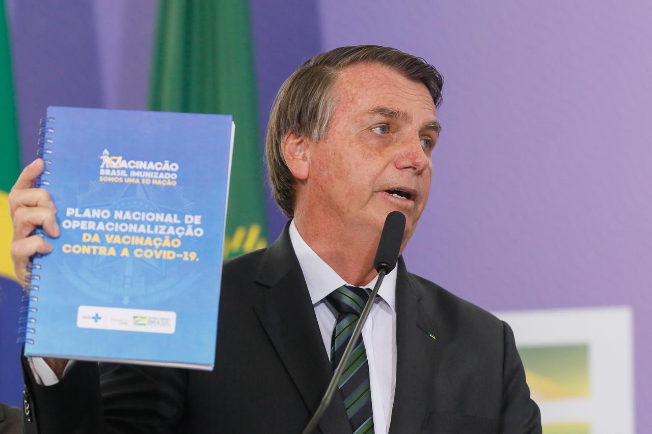 Bolsonaro com plano