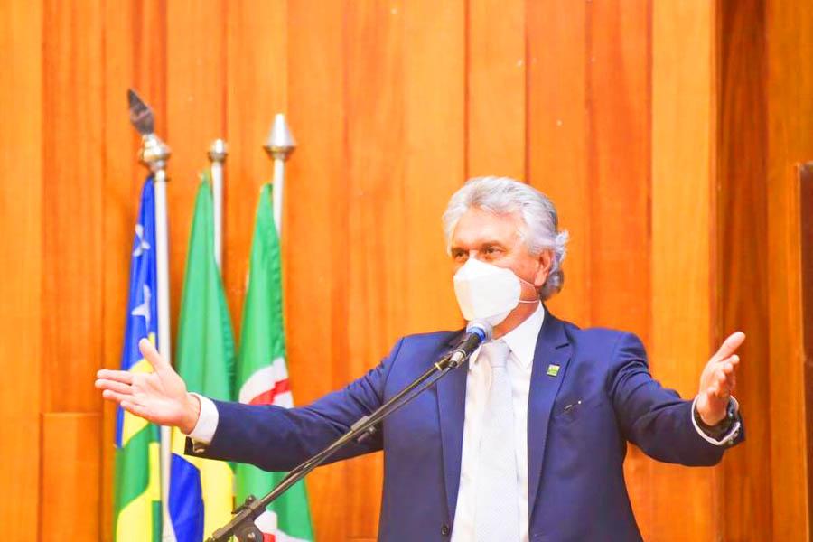 Ronaldo Caiado   Foto: Júnior Guimarães