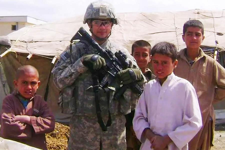Antônio Caiado em Cabul, capital do Afeganistão | Foto: Arquivo Pessoal