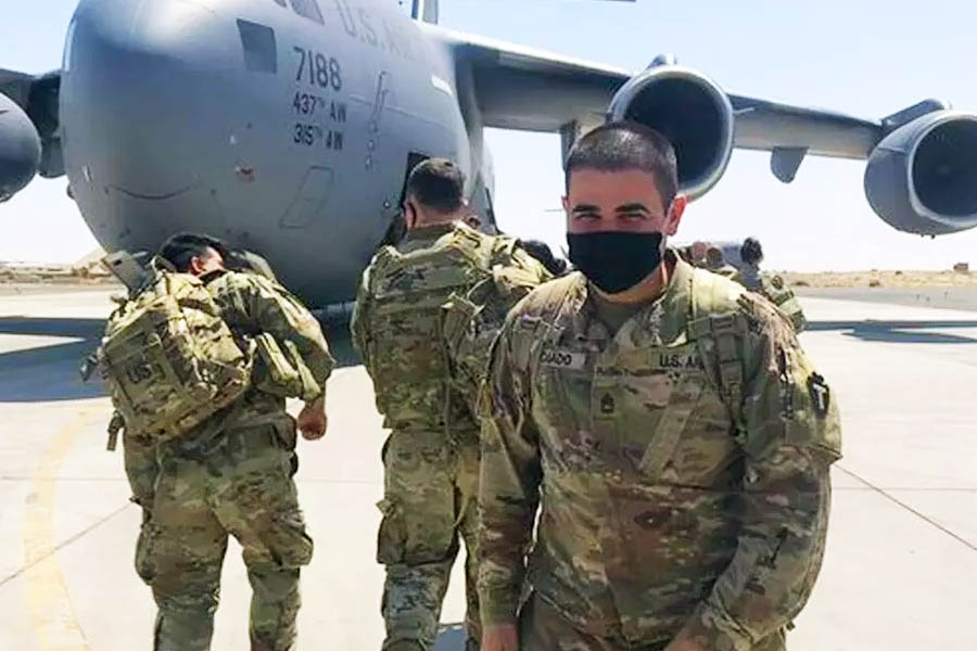 Antônio Caiado, goiano soldado dos EUA | Foto: Arquivo Pessoal