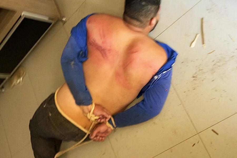 PM resgata vítima de cativeiro no Jardim Santo Antônio | Foto: Reprodução