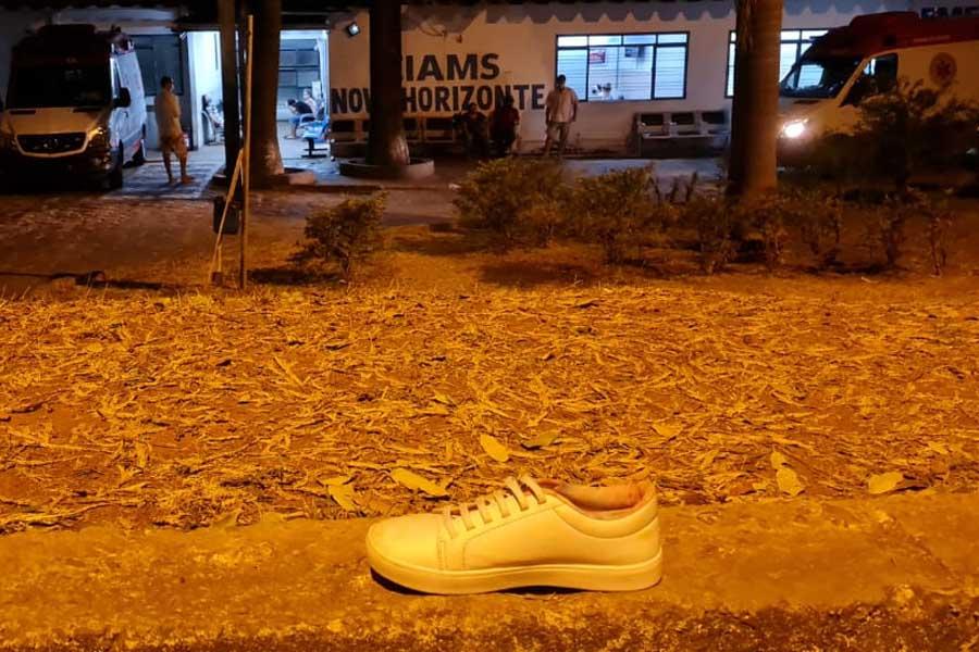 Atentado no Cais Novo Horizonte | Foto: Folha Z